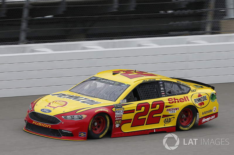 9. Joey Logano, Team Penske, Ford Fusion Shell Pennzoil