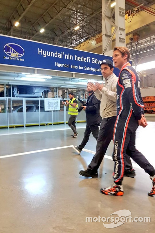 Andreas Mikkelsen, Hyundai fabrikası