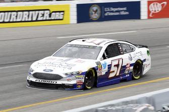 Cole Custer, Rick Ware Racing, Ford Fusion Jacob Companies