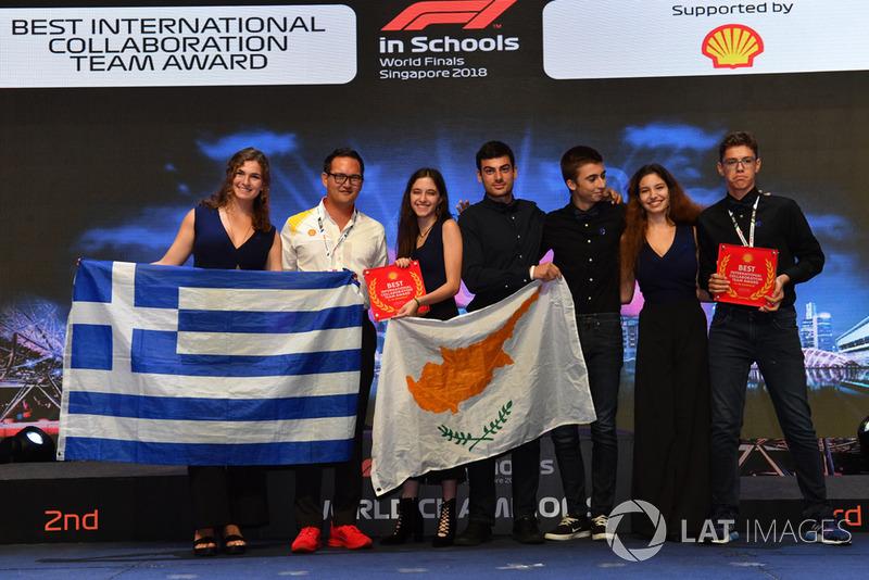 Primo a la mejor colaboración internacional