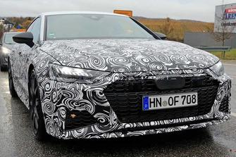 Audi RS7 Sportback spy photo