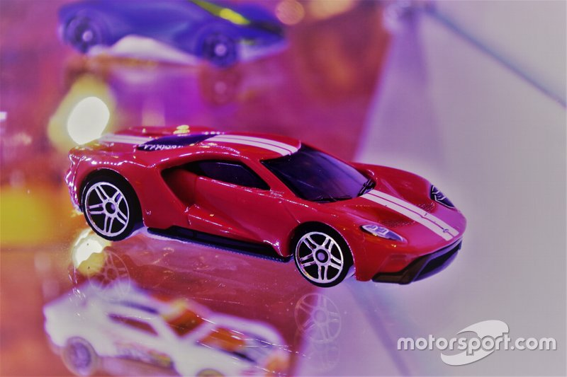 Diecast Ford GT Hot Wheels