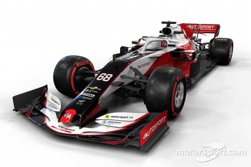 Макет машини Ф1 від Motorsport Network