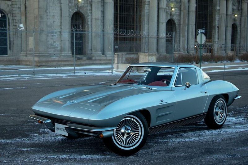 Chevrolet Corvette Sting Ray Sport Coupe (C2) '63