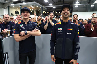 Daniel Ricciardo, Red Bull Racing and Max Verstappen, Red Bull Racing