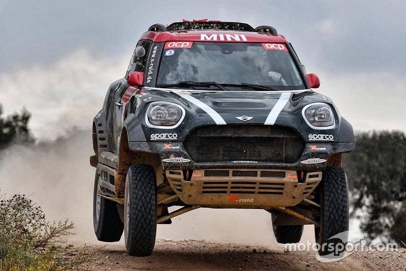 Nani Roma, Alex Haro, MINI X-Raid John Cooper Works Rally