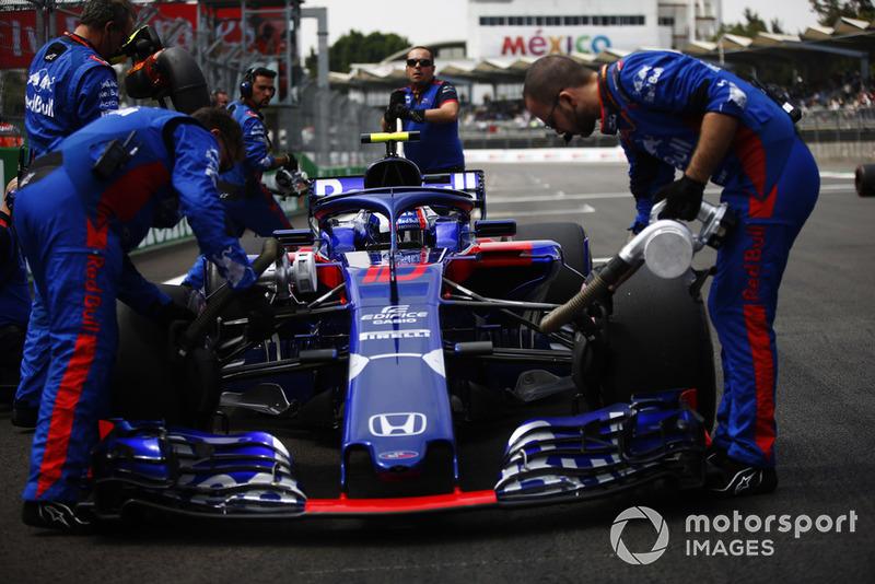 Механіки, П'єр Гаслі, Scuderia Toro Rosso STR13