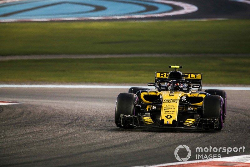 Sainz takes best of the rest crown on his final Renault outing