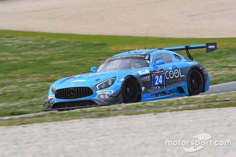 #24 SPS automotive performance, Mercedes AMG GT3: Alexandre Coigny, Iradj Alexander David, Richard Feller