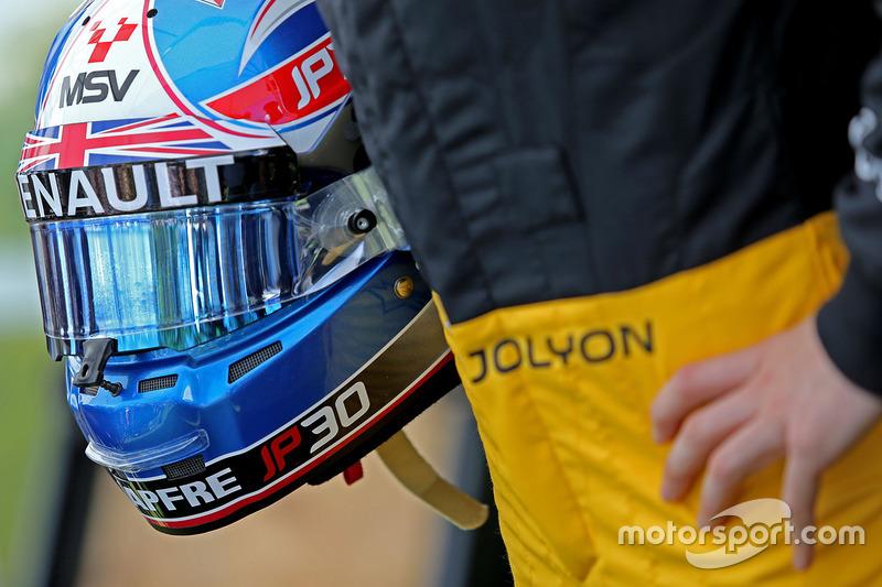 Helm von Jolyon Palmer, Renault Sport F1 Team