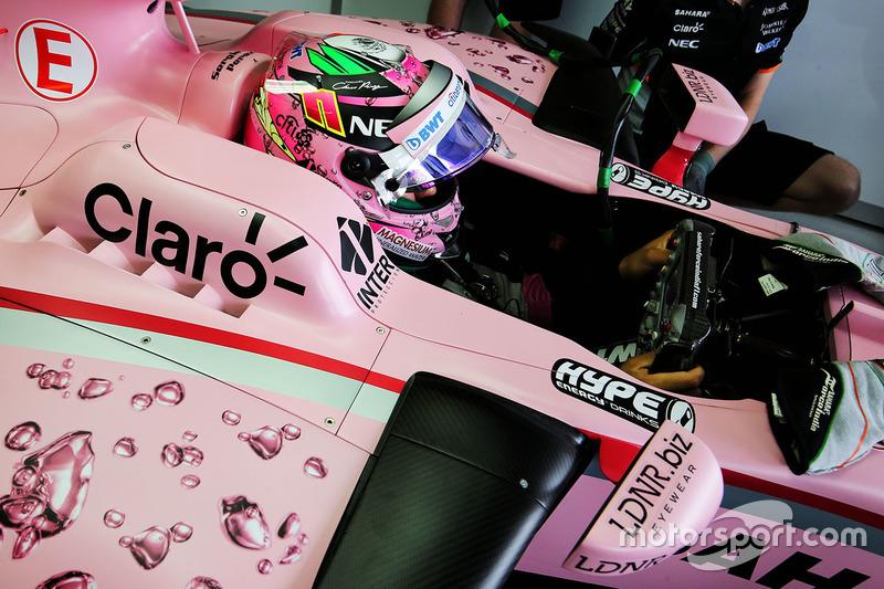 Sergio Perez, Sahara Force India F1 VJM10