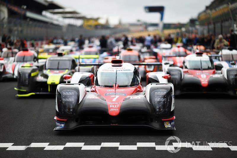 Penantang juara: Toyota TS050 Hybrid #7
