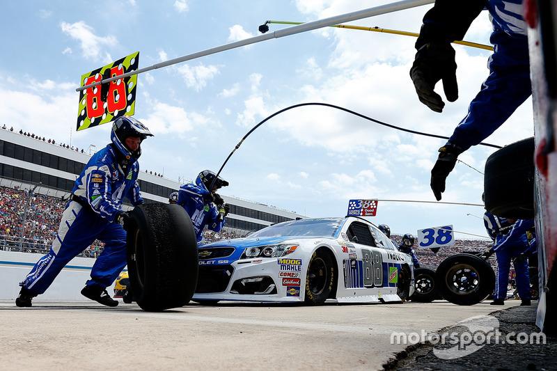 #6: NASCAR-Boxenstopp in Dover