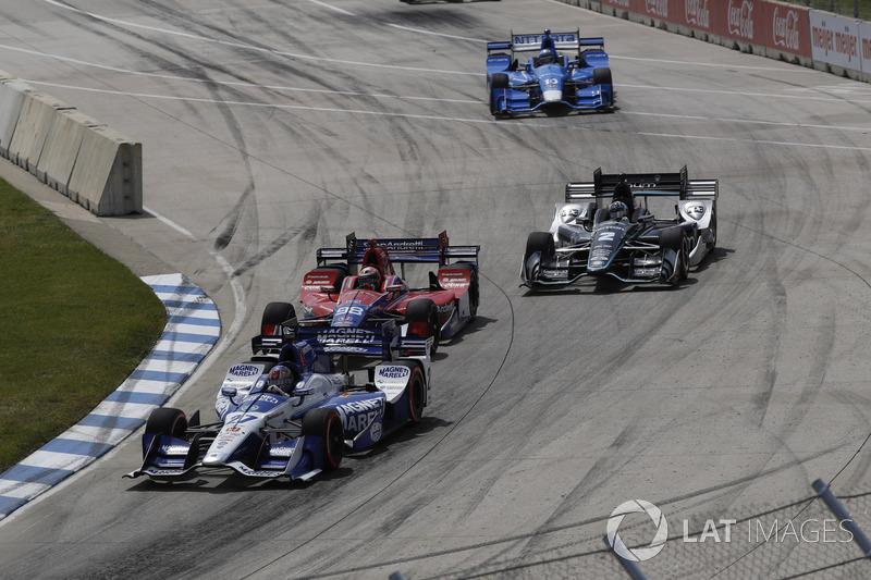 Marco Andretti, Andretti Autosport, Honda; Alexander Rossi, Herta - Andretti Autosport, Honda