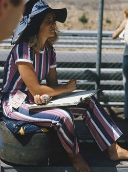 Lovely girl in the paddock