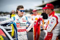 James Golding, Garry Rogers Motorsport. Scott McLaughlin, Team Penske Ford,