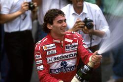 Победитель Айртон Сенна, McLaren