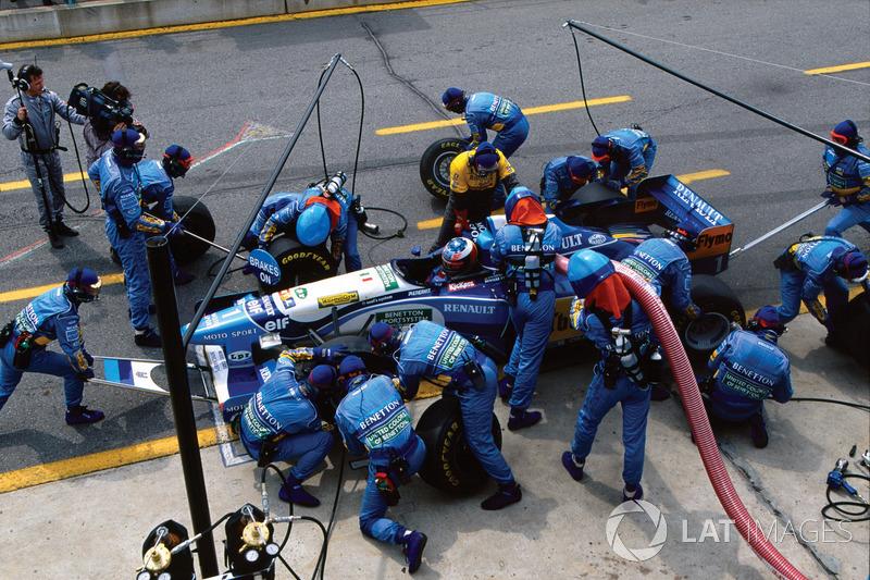 1995 Canadian GP, Benetton B195