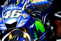 Yamaha fairing on the bike of Valentino Rossi, Yamaha Factory Racing