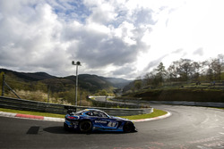 #4 Black Falcon, Mercedes-AMG GT3: Abdulaziz al Faisal, Hubert Haupt