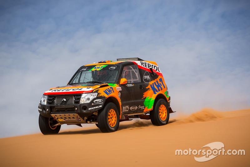 Isidre Esteve, J.M. Villalobos, KH-7 Rally Team
