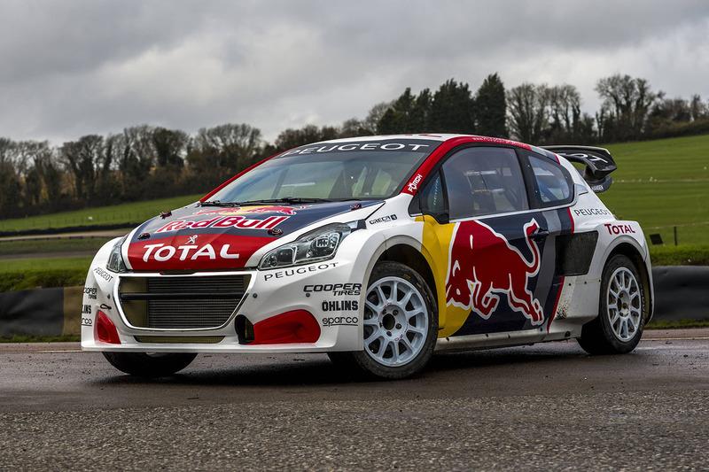 Team Peugeot Hansen car