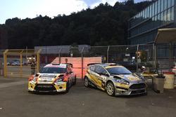 Kevin Gilardoni, Corrado Bonato, Ford Fiesta WRC, Movisport, und Michael Burri, Andersson Levratti, Ford Fiesta WRC, D-MAX Swiss