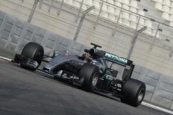 Pascal Wehrlein, Mercedes AMG F1 testing the new 2017 Pirelli tyres