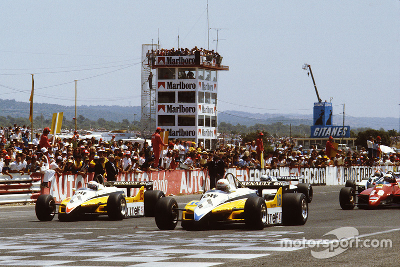 4: Rene Arnoux y Alain Prost (Renault)
