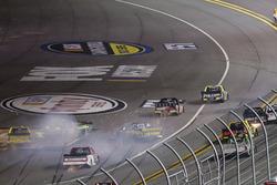 Crash: Austin Self, Toyota; Clay Greenfield, Chevrolet;