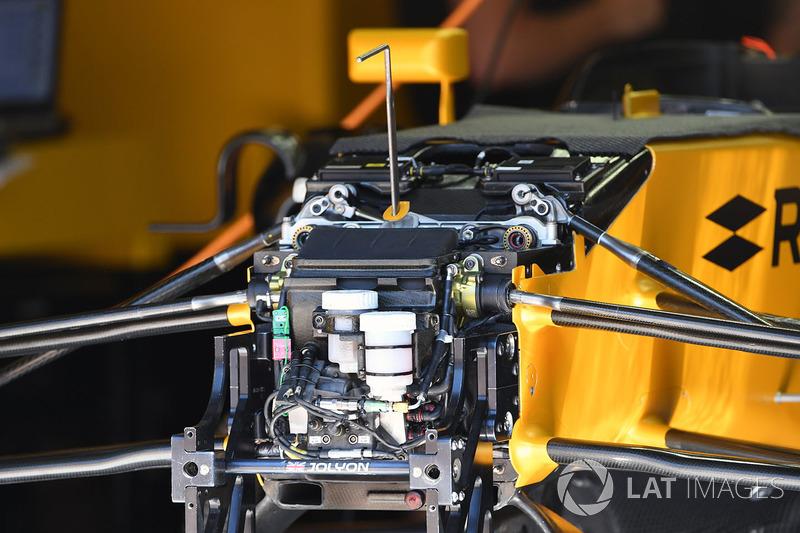 Передня підвіска і шасі Renault Sport F1 Team RS17