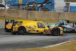 Problemen voor #85 JDC/Miller Motorsports ORECA 07: Stephen Simpson, Mikhail Goikhberg, Chris Miller