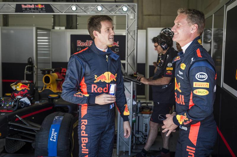 Sebastien Ogier, David Coulthard, Red Bull Racing