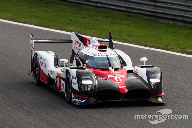 #8 Toyota Gazoo Racing, Toyota TS050 Hybrid: Anthony Davidson, Nicolas Lapierre, Kazuki Nakajima