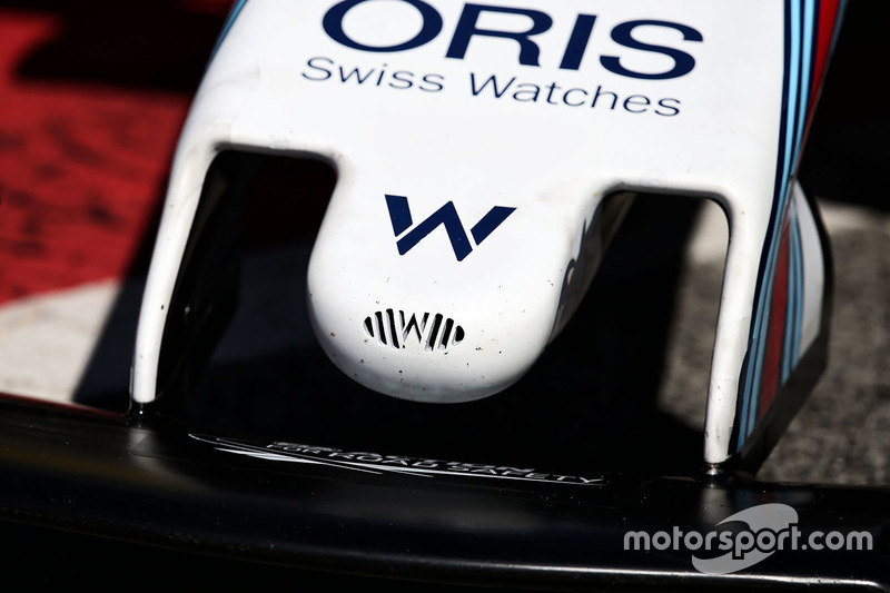 Williams FW40 nosecone