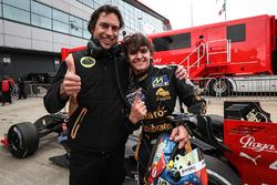 Ganador de la pole Pietro Fittipaldi, Lotus