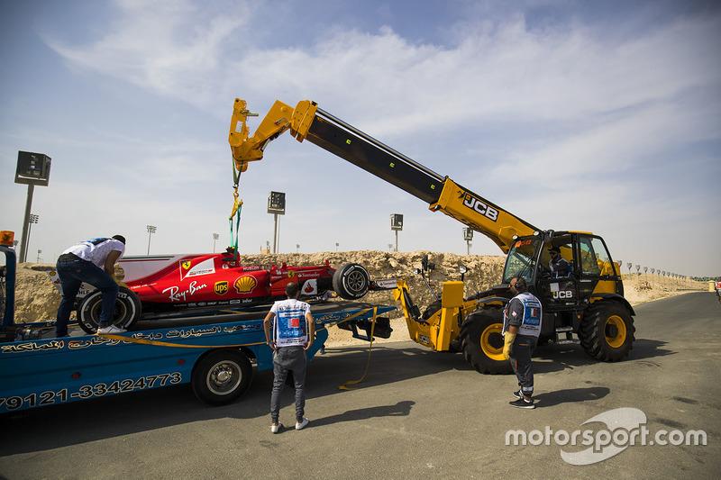 Car of Kimi Raikkonen, Ferrari SF70H