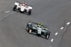 Ed Carpenter, Ed Carpenter Racing Chevrolet, Tristan Vautier, Dale Coyne Racing Honda