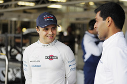 Felipe Massa, Williams; Karun Chandhok