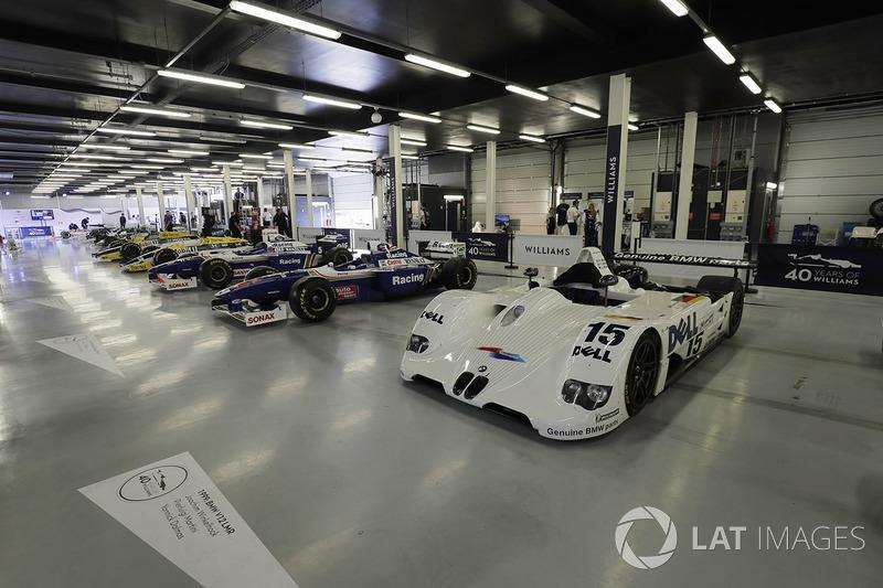 Des Williams avec la BMW vainqueur du Mans en 1999