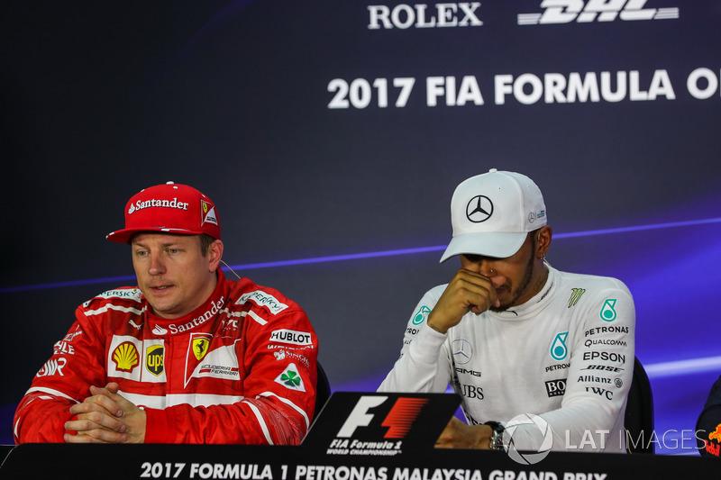 Кімі Райкконен, Ferrari,Льюіс Хемілтон, Mercedes AMG F1