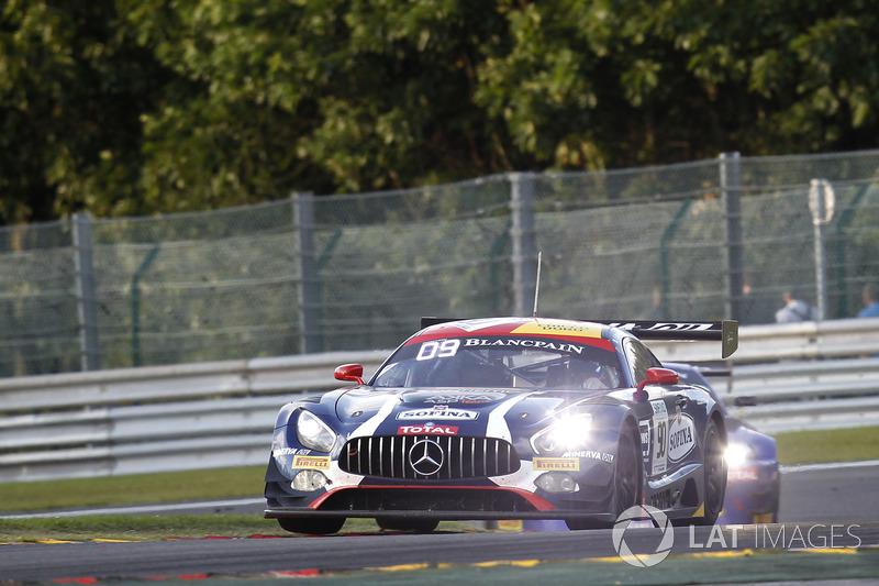 3. #90 Akka ASP, Mercedes-AMG GT3