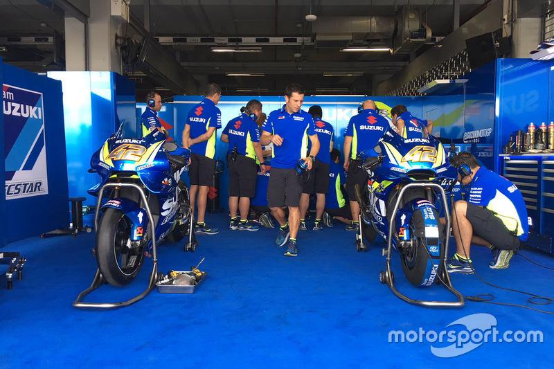 Мотоцикли Алекса Рінса, Team Suzuki MotoGP