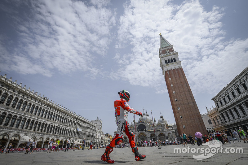 Хорхе Лоренсо Ducati Team, у Венеції
