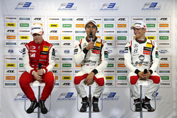 Conferenza stampa, Marcus Armstrong, PREMA Theodore Racing Dallara F317 - Mercedes-Benz, Enaam Ahmed, Hitech Bullfrog GP Dallara F317 - Mercedes-Benz, Alex Palou, Hitech Bullfrog GP Dallara F317 - Mercedes-Benz