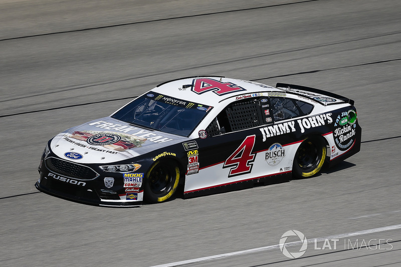 Kevin Harvick, Stewart-Haas Racing, Ford Fusion Jimmy John's Kickin' Ranch