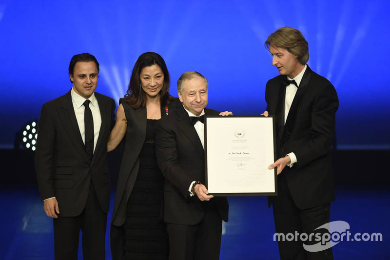 Jean Todt with Jean Charles Decaux