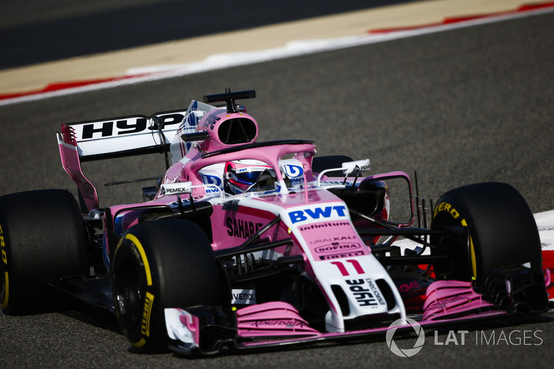 12. Серхио Перес, Sahara Force India F1