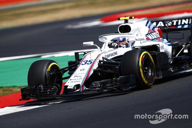 9º Williams FW41 (1025 vueltas)
