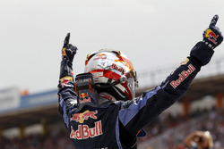 Sebastian Vettel, Red Bull Racing celebra su pole